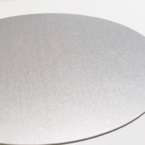 Achterkant gedenkteken aluminium