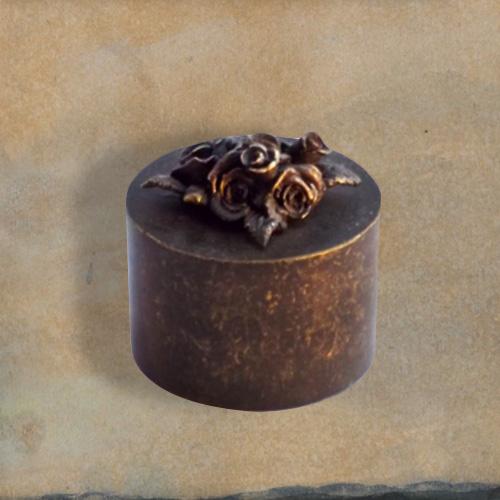 Citaten Over Rozen : Mini urn van brons met rozen brinsio