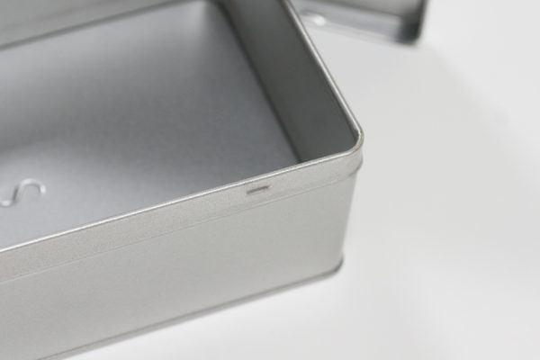 Aluminium bewaardoosje