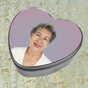 Rouwdoos hart