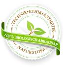 Logo 100% biologisch afbreekbaar