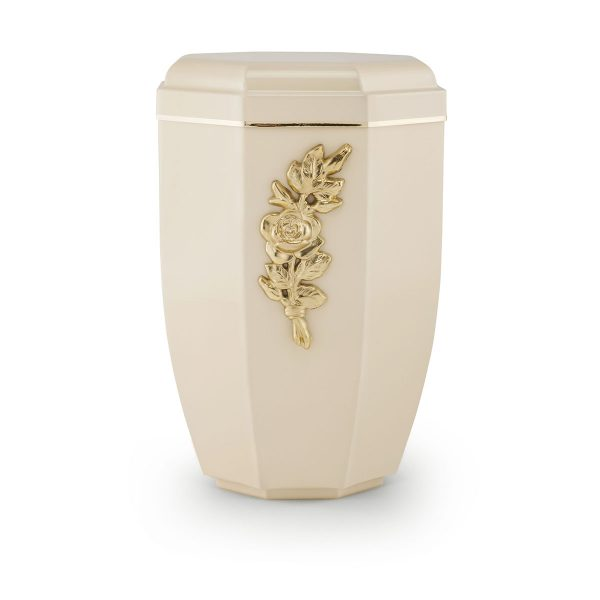 Urn creme staal