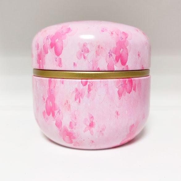 Mini Urn Aluminium Roze Bloemen Potje Voor As