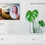 Mini Urn Huiskamer Muur Eigen Foto Tekst
