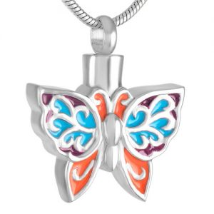 Ashanger Vlinder Rvs Kleuren