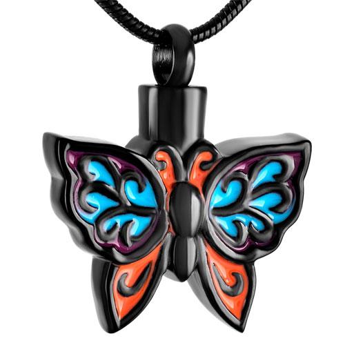Ashanger Vlinder Rvs Zwart
