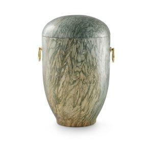 Urn Gepolijst Natuursteen Groen Bruin